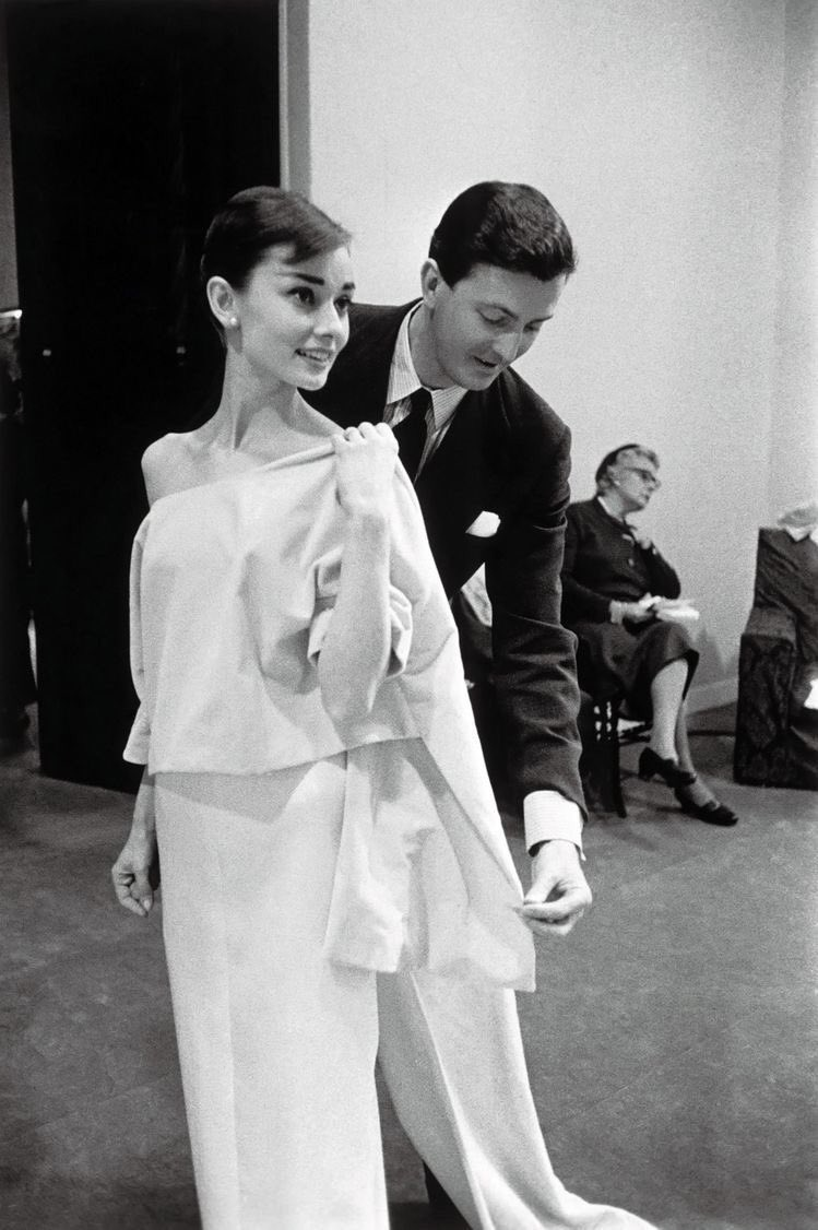"RIP Hubert de Givenchy. A true cuturier. ""The eternal apprentice"" as he liked to call himself. He believed in beauty and he left us a more beautiful world. He dressed stars and created fashion icons like Audrey Hepburn. I hope you can now reunite with your teacher Balenciaga."