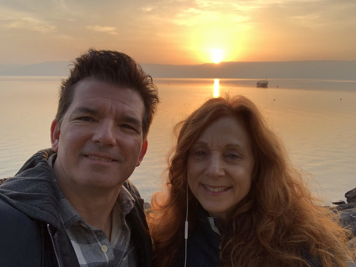 Just got back from Israel. Sunrise on th...
