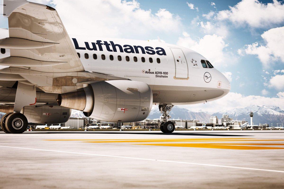 Unsere A319-100 kommt auf eine Spannweite von über 34 Metern. Ansonsten kommt es bei ihr auf die inneren Werte an – da ist sie eine ganz Große! #A319 #LufthansaFlotte