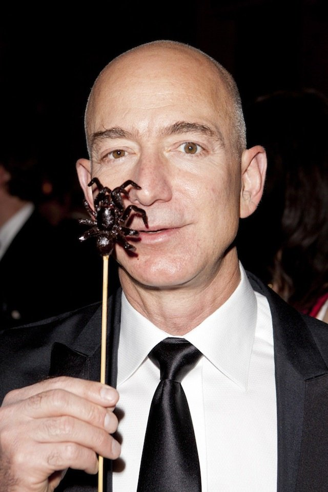 Pip Pickles On Twitter Here Is Jeff Bezos Eating A Cockroach A