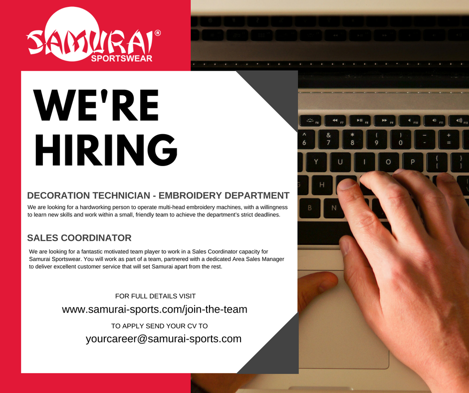test Twitter Media - We are on the look out for enthusiastic and talented individuals to join our growing team! Think you have what it takes to work in the sportswear industry? Check out our current vacancies and apply today >> https://t.co/yqjLKi114e https://t.co/Sl8etZRtFF