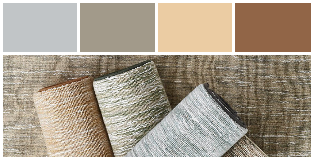 Natural pastels and neutrals come to life in our Milfoil carpet's colorways.    #Staatsburg  #StaatsburgNY