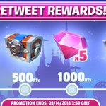 Retweet Rewards! The more retweets we get, the more gifts you'll receive! Let's work together and earn those gifts!