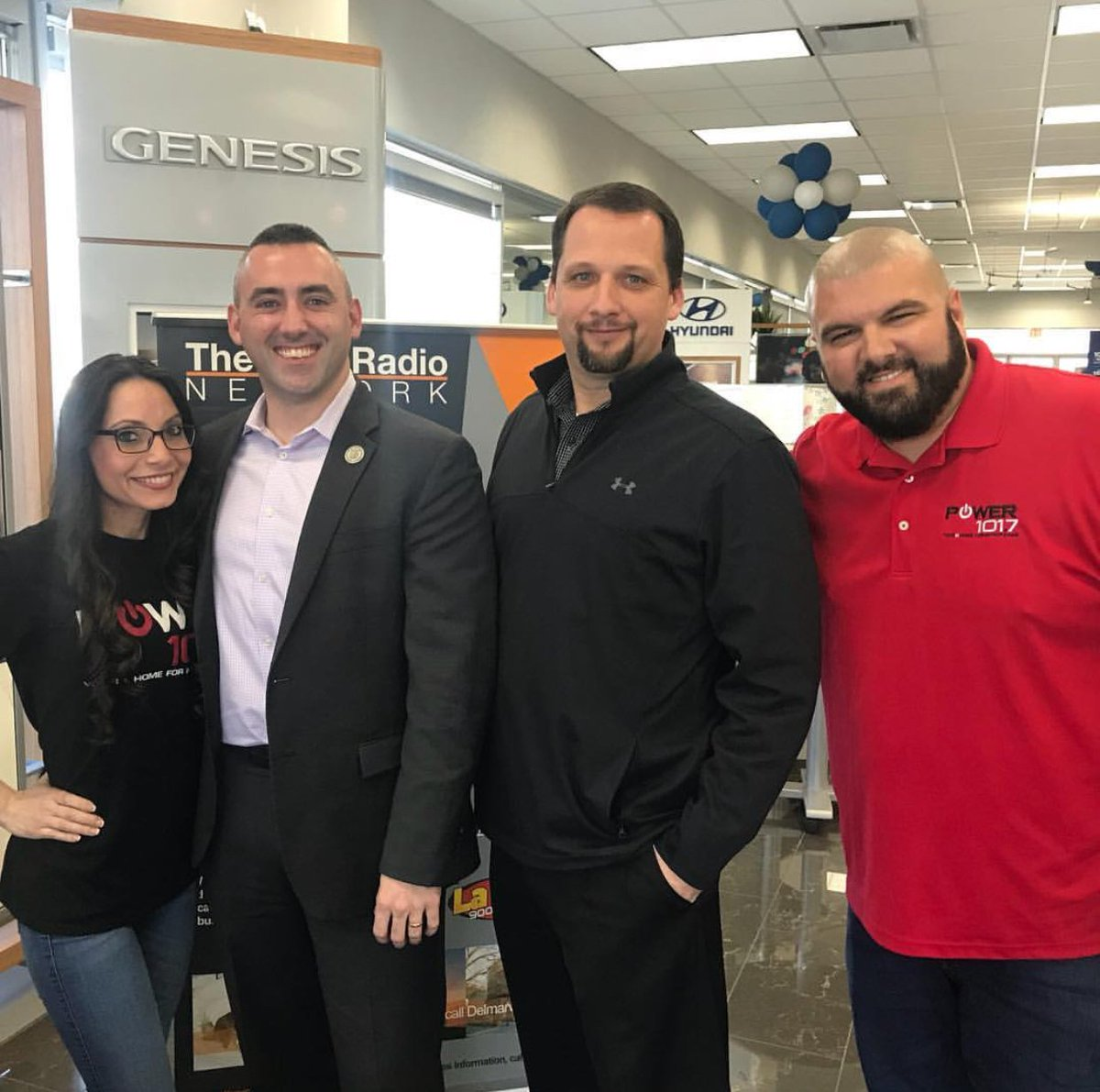 ... Show On @power1017fm Broadcasting Live From The Pohanka Hyundai Of  Salisbury Showroom With Special Guest Jake Day   Mayor Of The City Of  Salisbury!