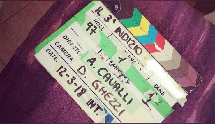 Shooting day1 #IlTerzoIndizio 🔜 https://...