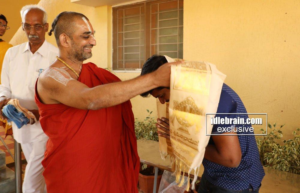 @AnilRavipudi & #RajaTheGreat team donated laptops to the blind children at Nethra Vidyalaya idlebrain.com/news/functions…