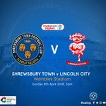 Our congratulations go out to #TORQFuelled @shrewsweb who are making their way to @Wembley for the @CheckatradeTrpy Football Cup Final, where they will play against @LincolnCity_FC on the 8th of April. Keep fuelled & enjoy