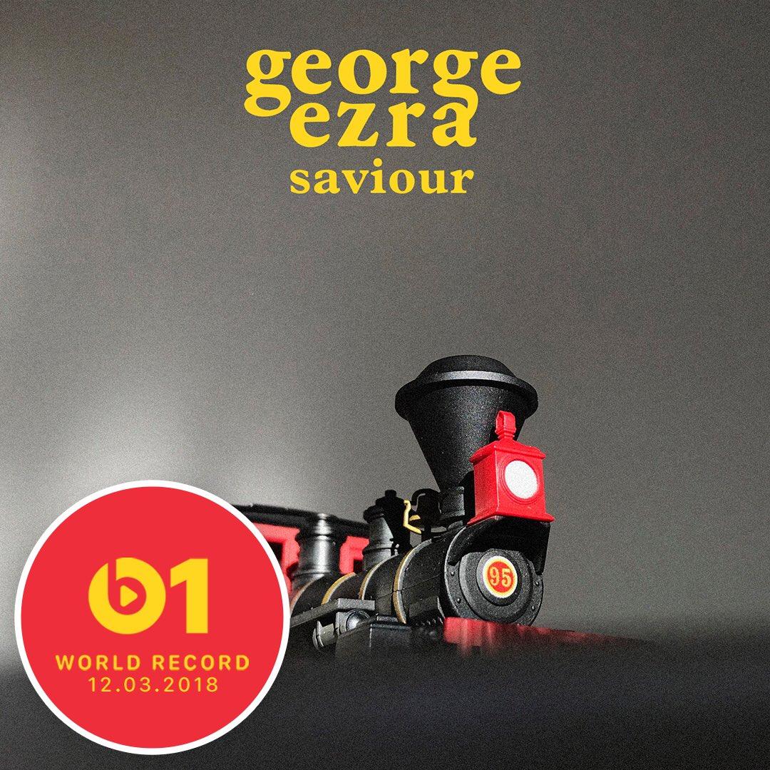 Today's #WorldRecord from @george_ezra 'Saviour' feat. @FirstAidKitBand 👉🏼📲 LISTEN apple.co/_Saviour