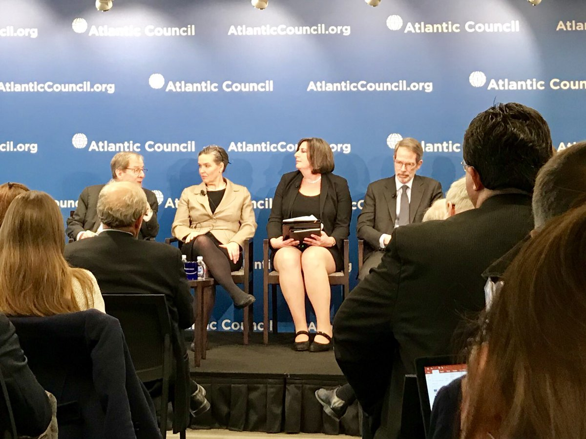 Absolutely full house @AtlanticCouncil to discuss #NordStream2. @EnergyAtState notes project would be a generational investment in European dependence on Gazprom, an organization that does not operate as a normal, good faith actor on the energy market.