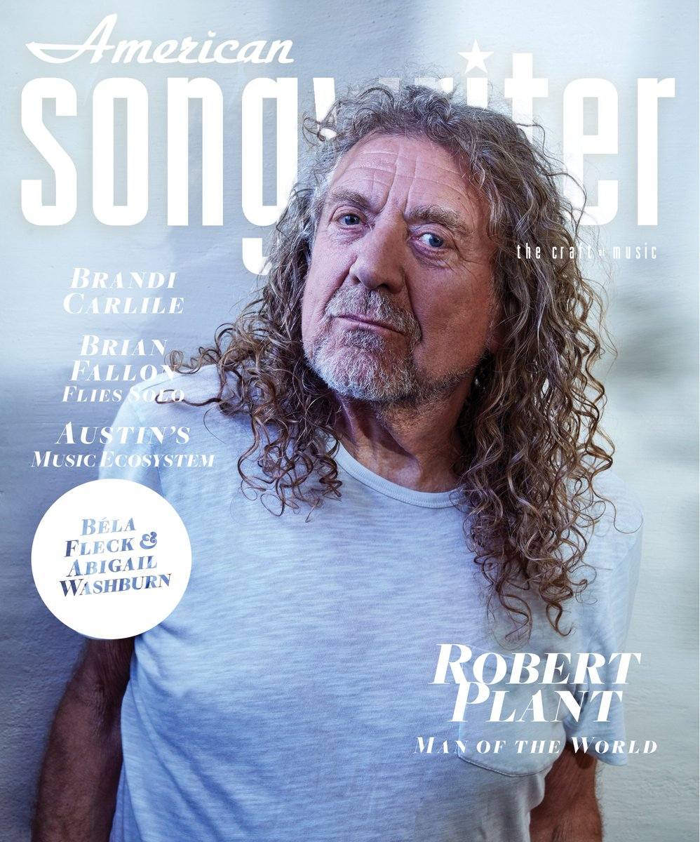 RP is on the cover of the latest issue of @AmerSongwriter! Pick up a copy when it hits newsstands on Tuesday.