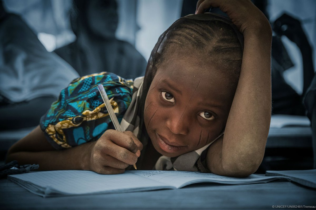 Protection. Education. Health. Hope. Rights do not end when you cross a border. We must make sure every child has a chance to learn, grow up healthy and be safe - no matter where and who they are. Each child is an investment in our future. #ForMigration #AChildIsAChild