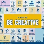 Image for the Tweet beginning: Creativity is key to the