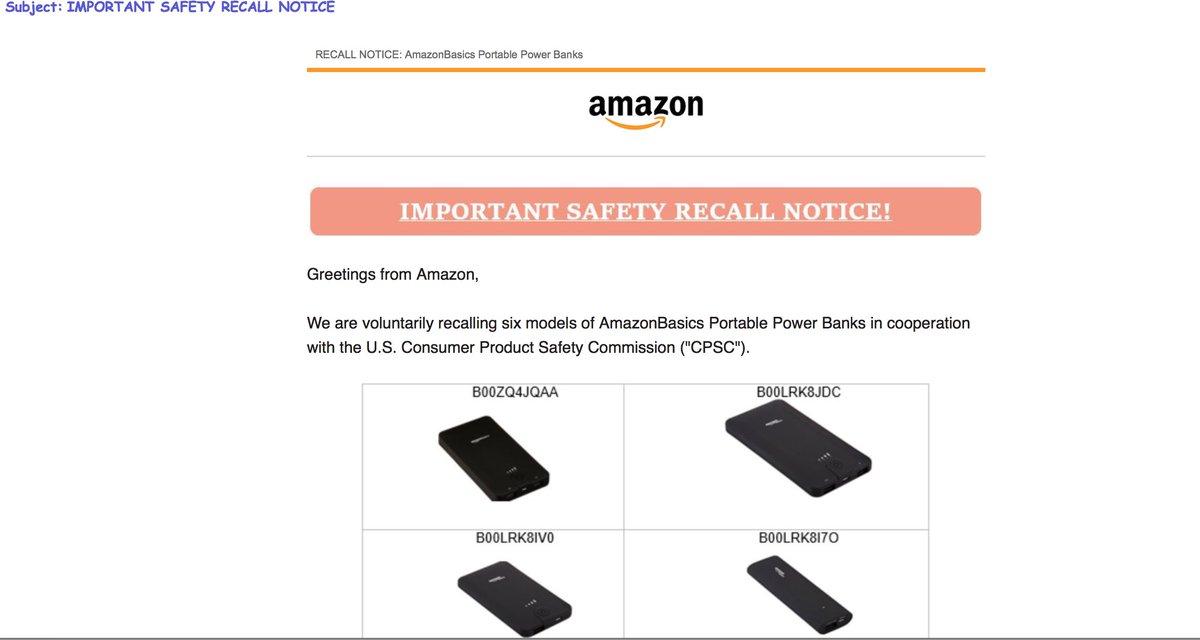 Amazon Help On Twitter Hi Alexa Yes Were Recalling Some