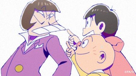 おそ松さん2期 第23話 「ダヨーンとダヨーン」「悩むイヤミさん」