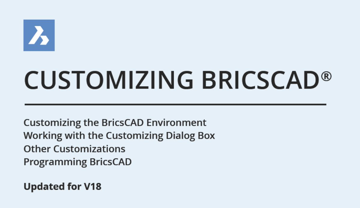 Bricsys - BricsCAD on Twitter: