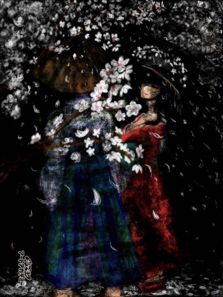 夜桜 https://t.co/Xx2LqoNGOr