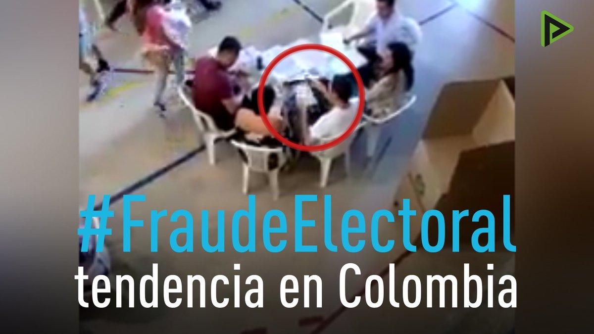 Denuncias de fraude electoral inundaron...