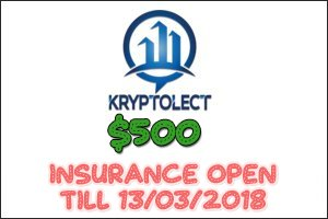 Image for Kryptolect Trades Insurance Open!
