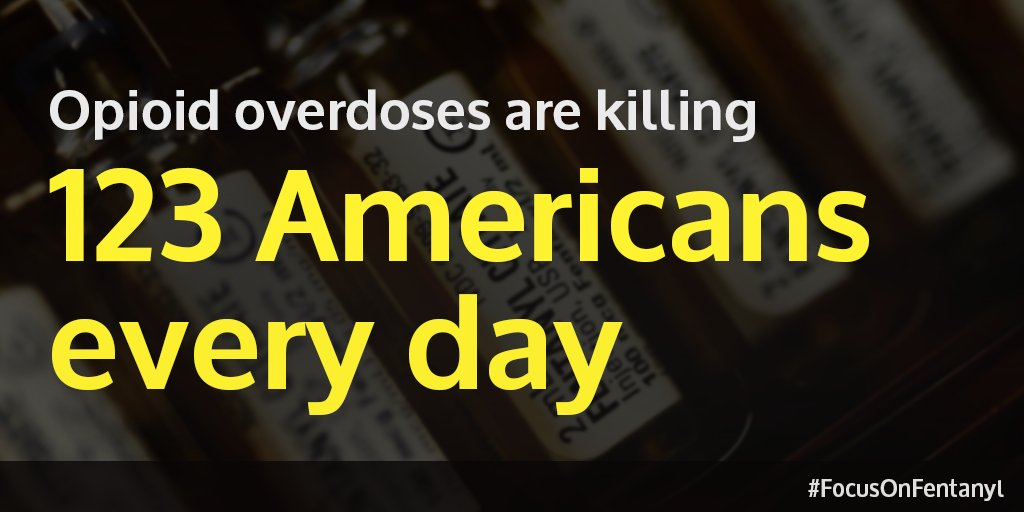 Fentanyl is now present in more than half of opioid-related overdoses in the US. Lumping it in w/ prescription pain drugs fails to properly address its contribution to this epidemic. We need to take action now to prevent more senseless tragedies ➡️ https://t.co/pG19HmXRGV