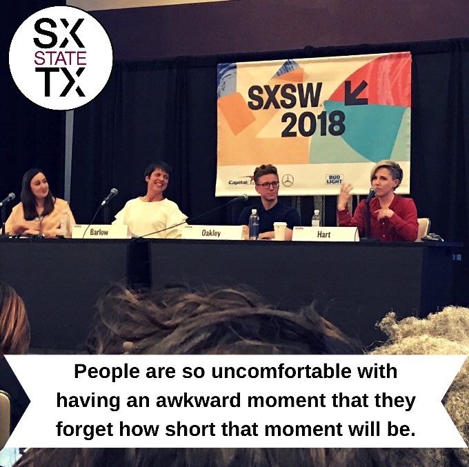 Getting all the real talk from @harto #create4good #sxtxstate #sxsw