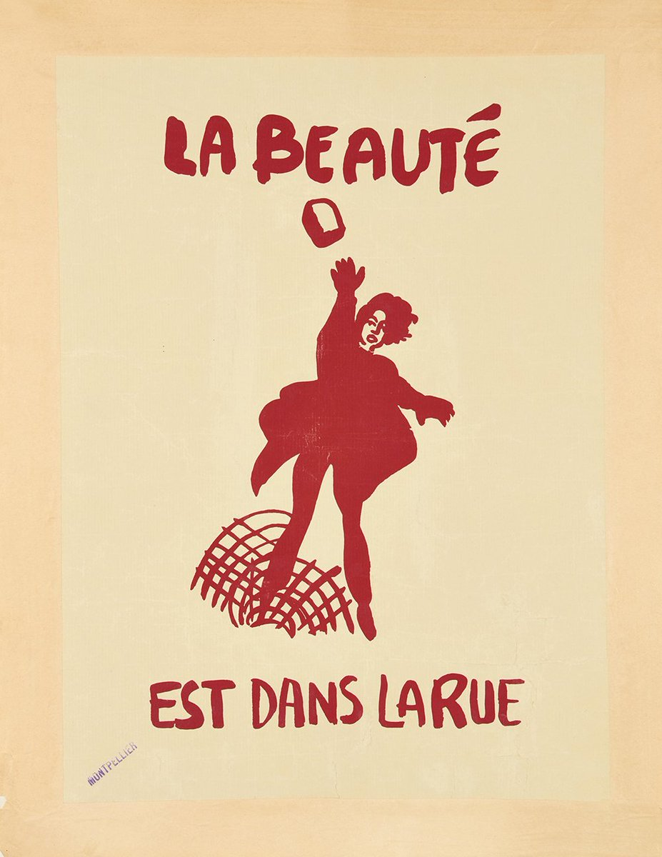 Artcurial Auction Marks 50th Anniversary Of May 68 Protests With Sale Posters From The Movement Last French Revolution Tco YHl59lp8Fg