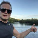 Image for the Tweet beginning: Running during sunset, done😊👍@FtMyersSanibel