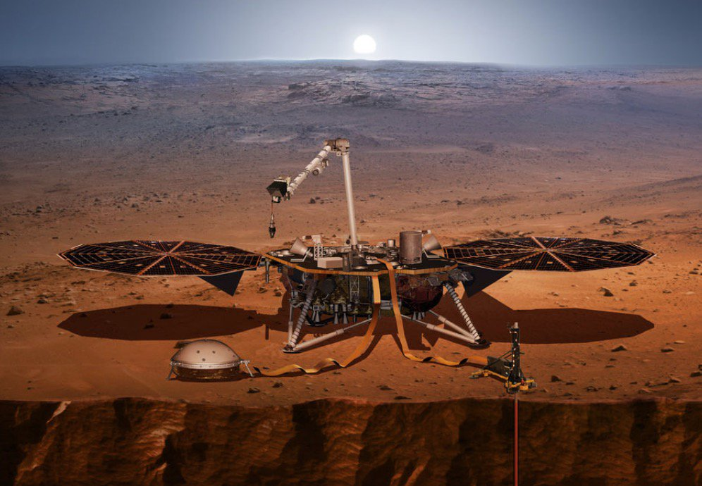 Only 53 days to the launch of NASA's Mars InSight lander! https://t.co/gb1t8sauHc