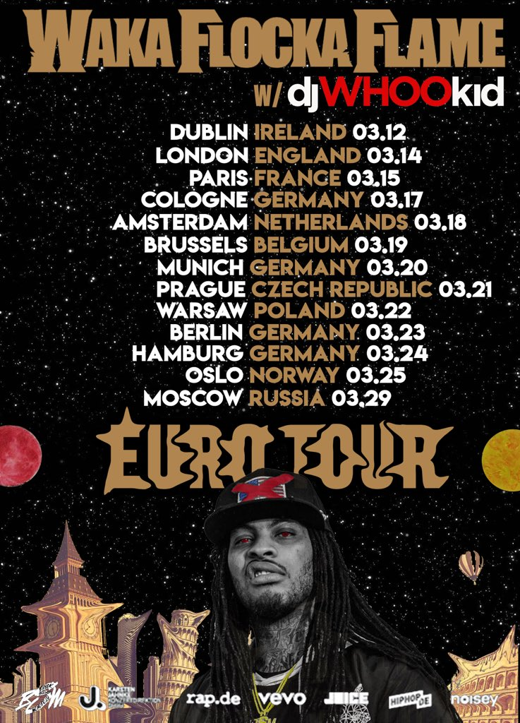 Me and @DJWhooKid ������������ Euro Tour ���� for after parties email djwhookidmp3@gmail.com https://t.co/P0RWYoqVle