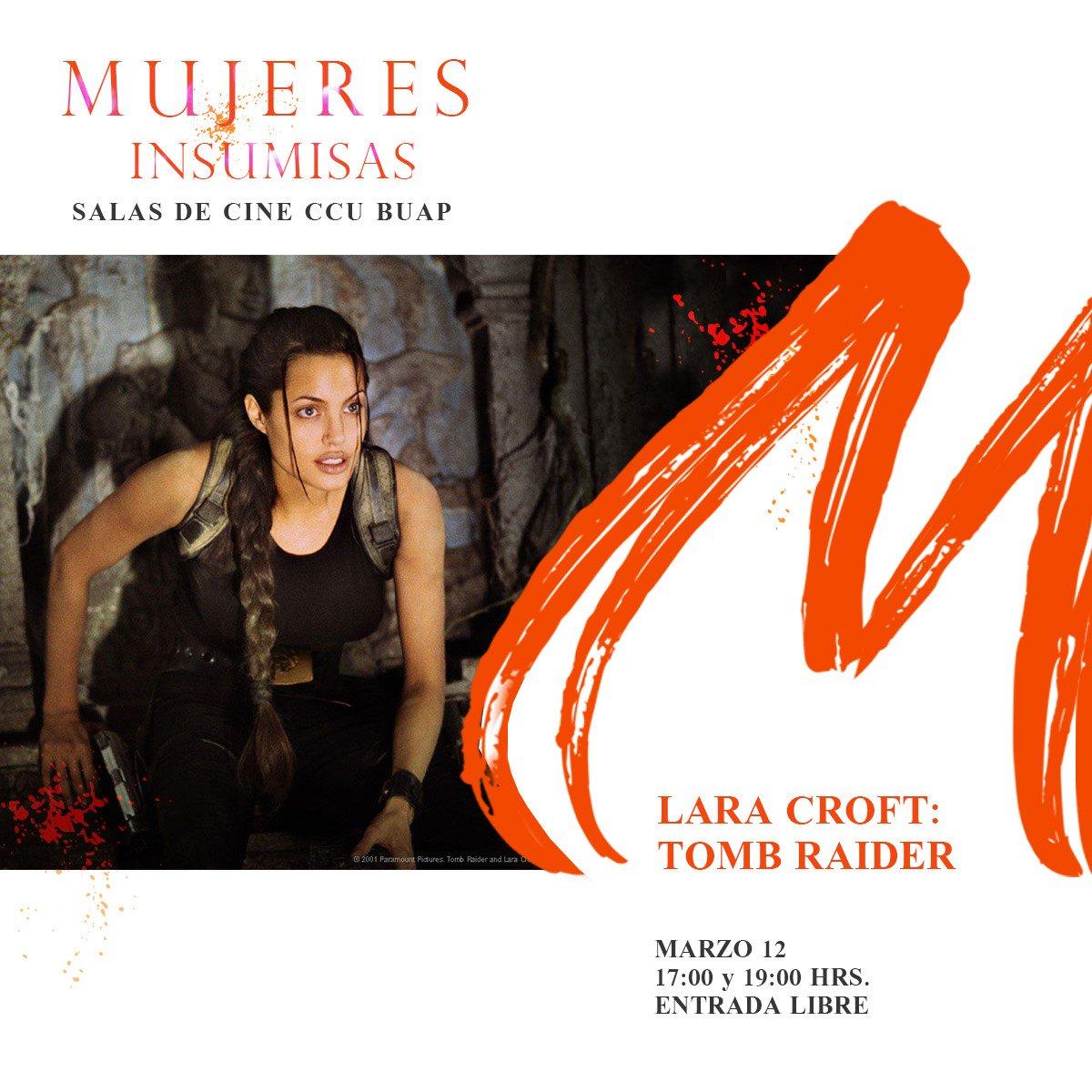 Una tarde de Lara Croft 💪  17:00 y 19:00...