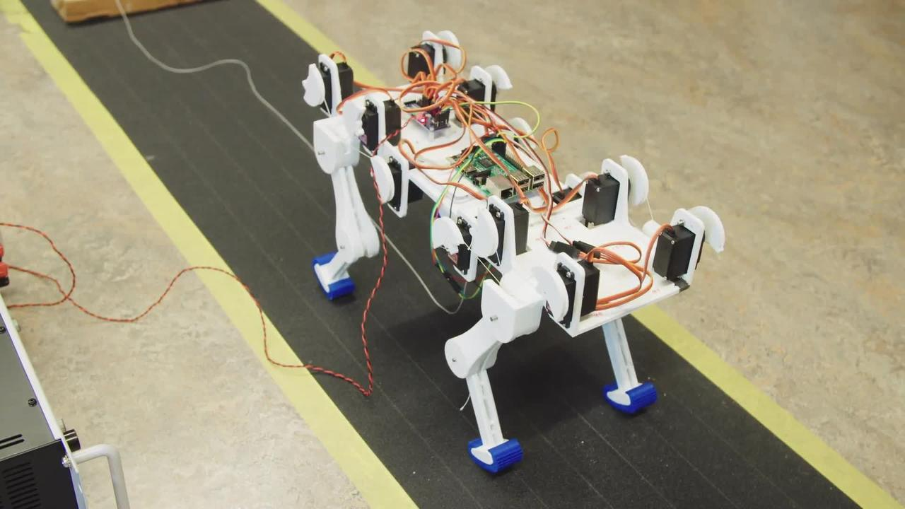 Inside the lab building a robot cat: https://t.co/jxmTANNm3h https://t.co/VSy1AmDYcH