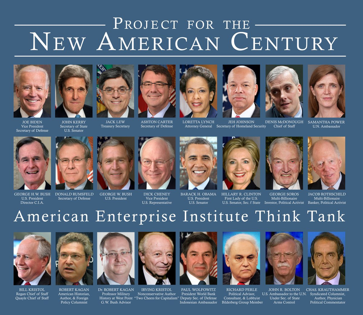 Image result for project for the new american century