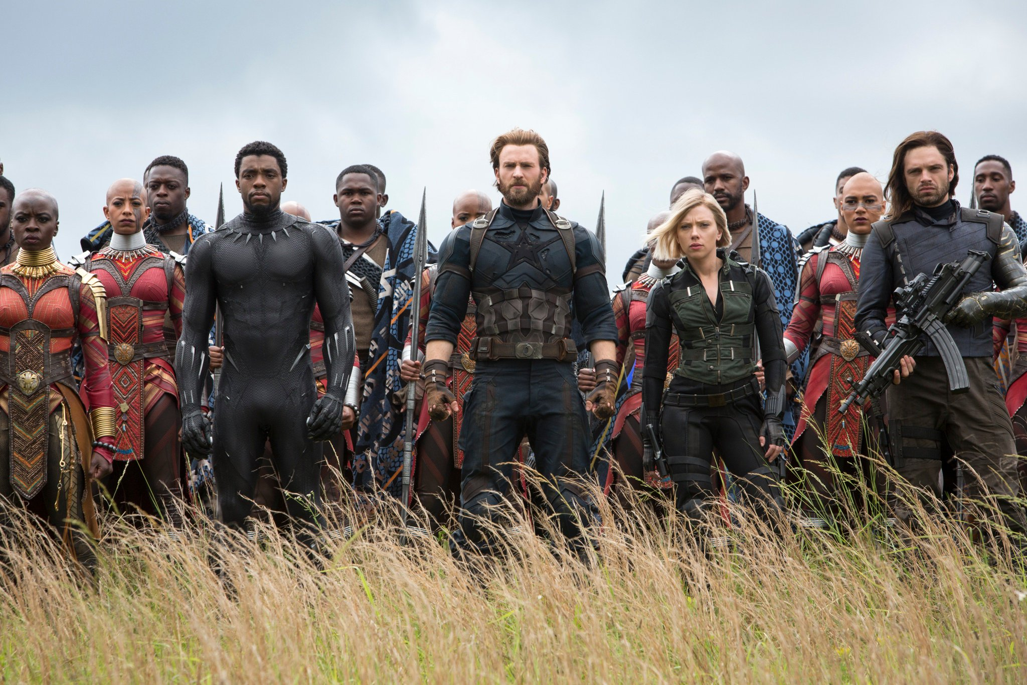 Check out these new images from #Avengers: #InfinityWar. Destiny arrives April 27th. (1/3) https://t.co/VMx2vkkgw1