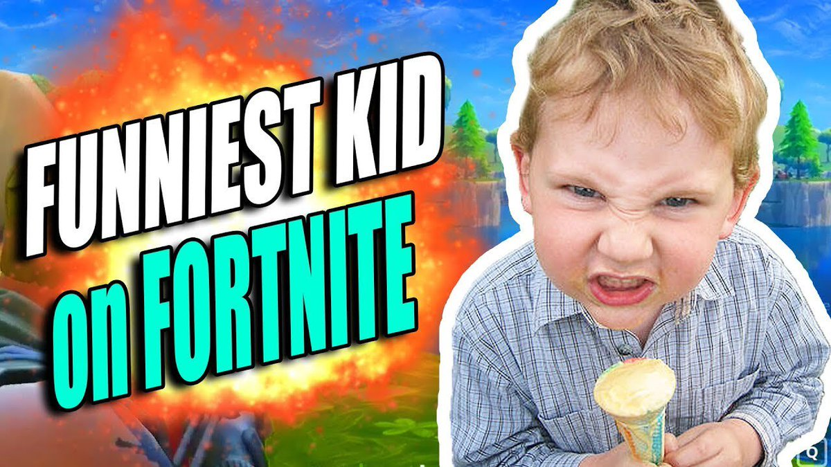FORTNITE - This kid is funny.. youtube.com/watch?v=soUlWm… #fortnite #FortniteBattleRoyale #FortniteGame
