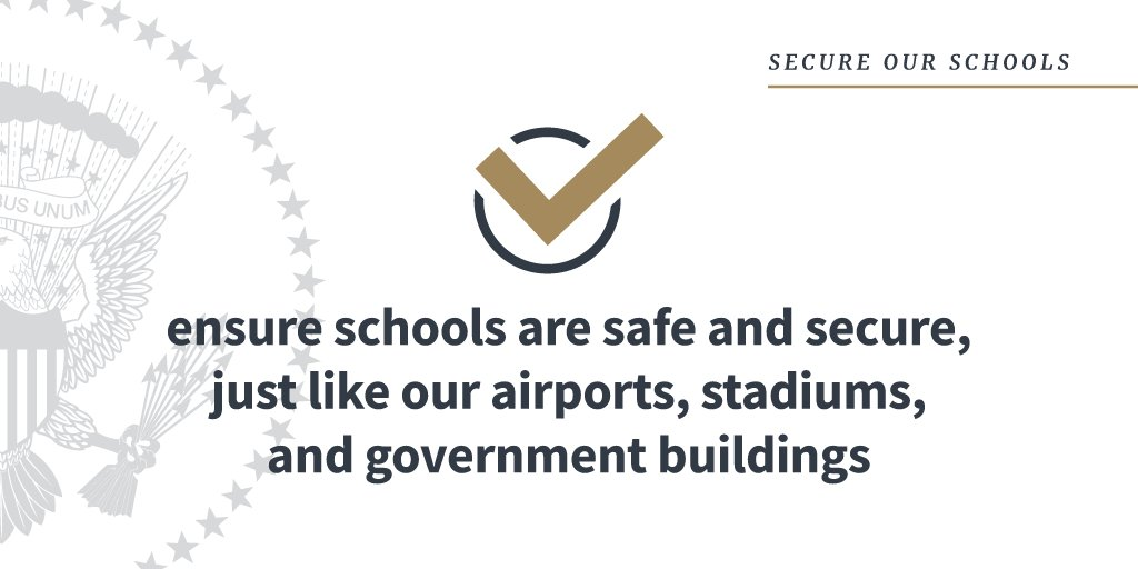President Trump is taking immediate action to protect our schools: https://t.co/RdQoHNw42g https://t.co/BX0vr8f14E