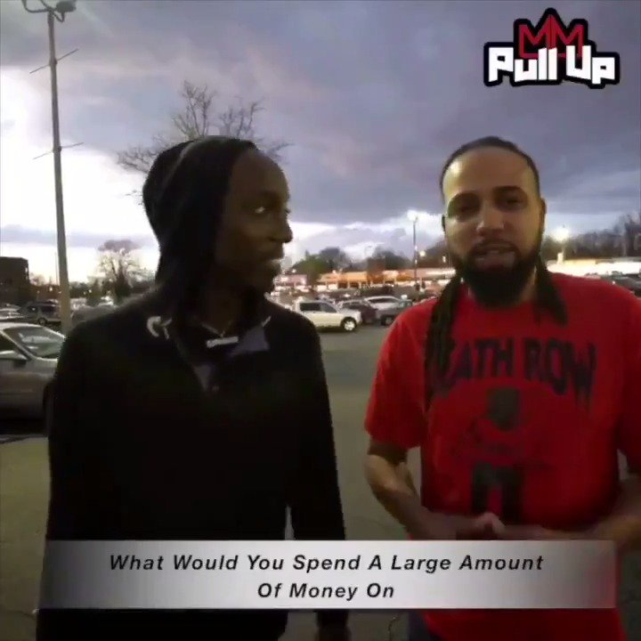 """For our new episode of """"Pull Up"""" we asked people what would they buy if they received a large amount of money 💰 Y'all won't believe the funny answers we got 😂#TaxSeason #MyMixtapez Watch Here: mymixtapez.com/v/2431"""