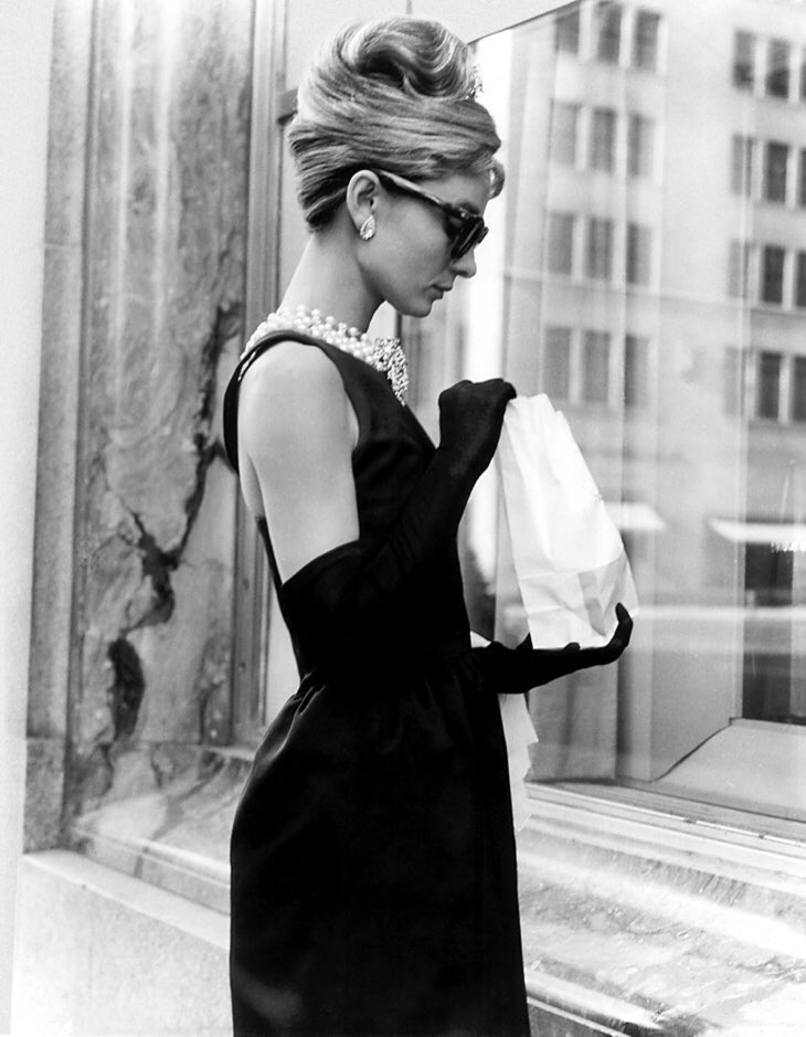 Iconic Dresses worn by Audrey Hepburn that were designed by Hubert de Givenchy
