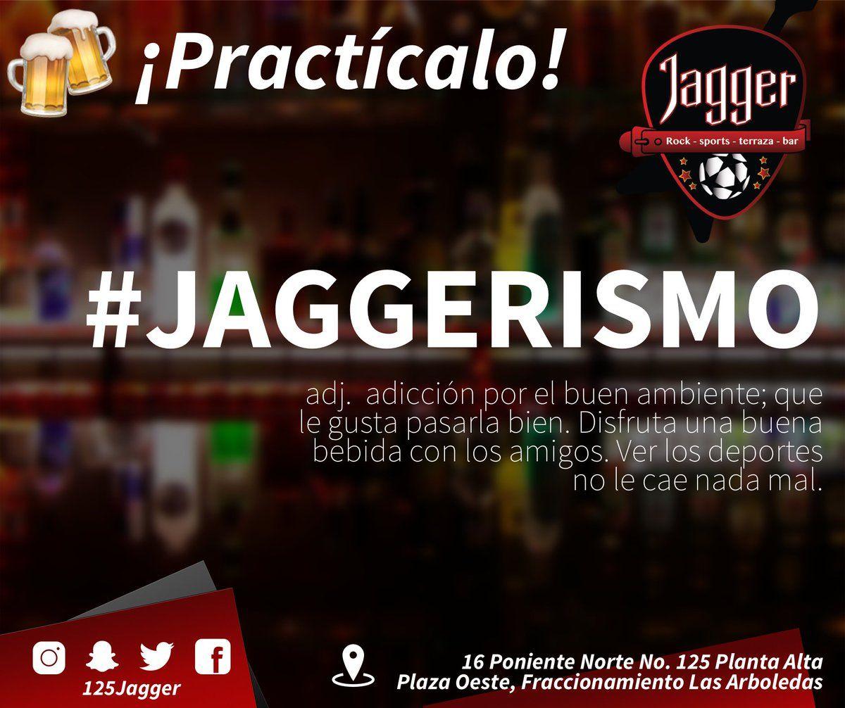 Jagger On Twitter Conoce La Definición De Jaggerismo