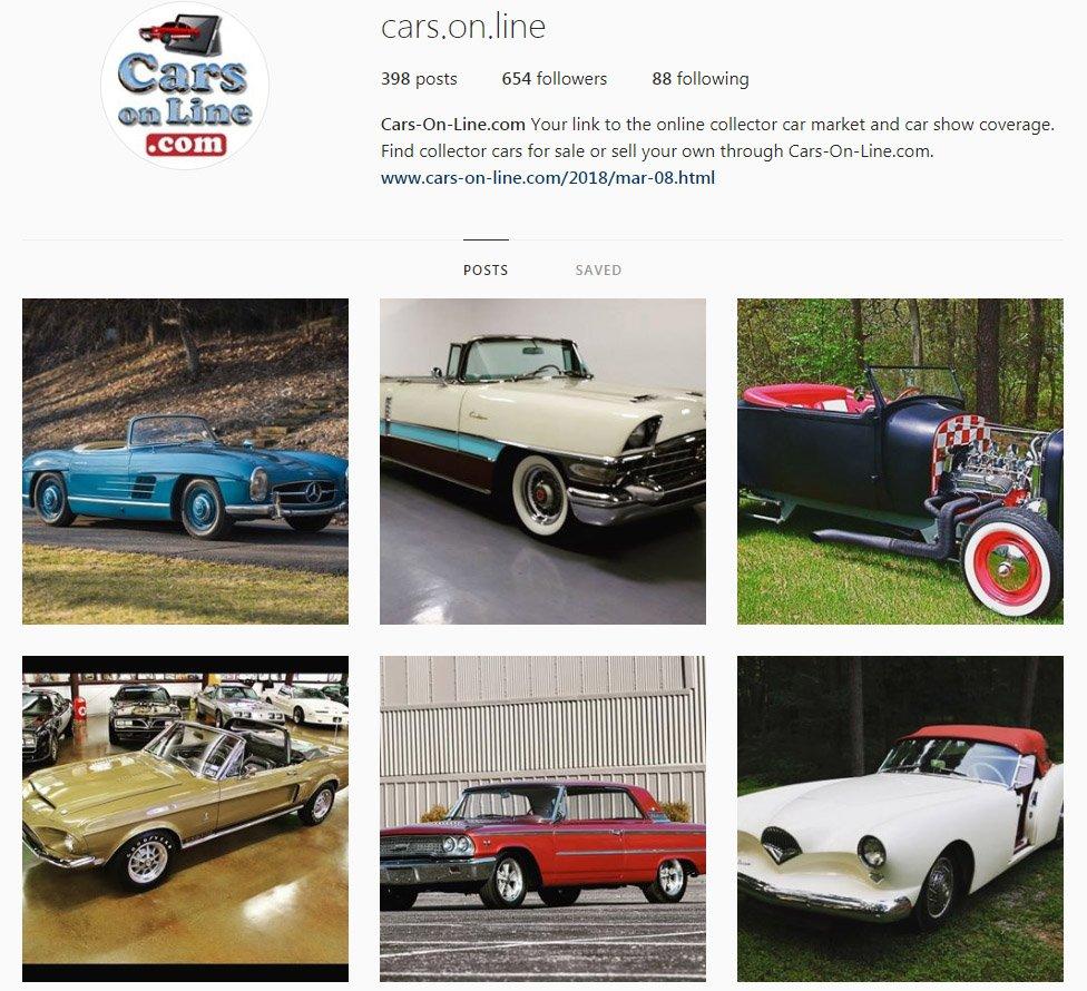 Enchanting Cars Online.com Classic Cars For Sale Festooning ...