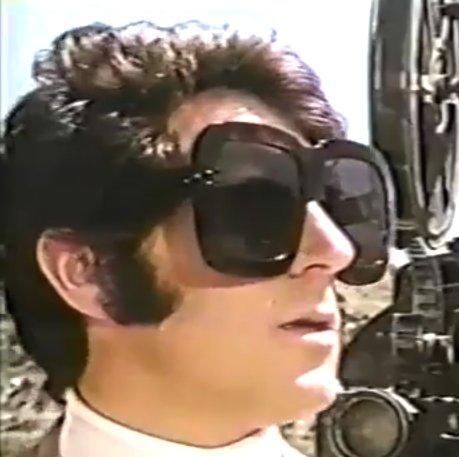 Once again, Tony Newleys sunglasses.