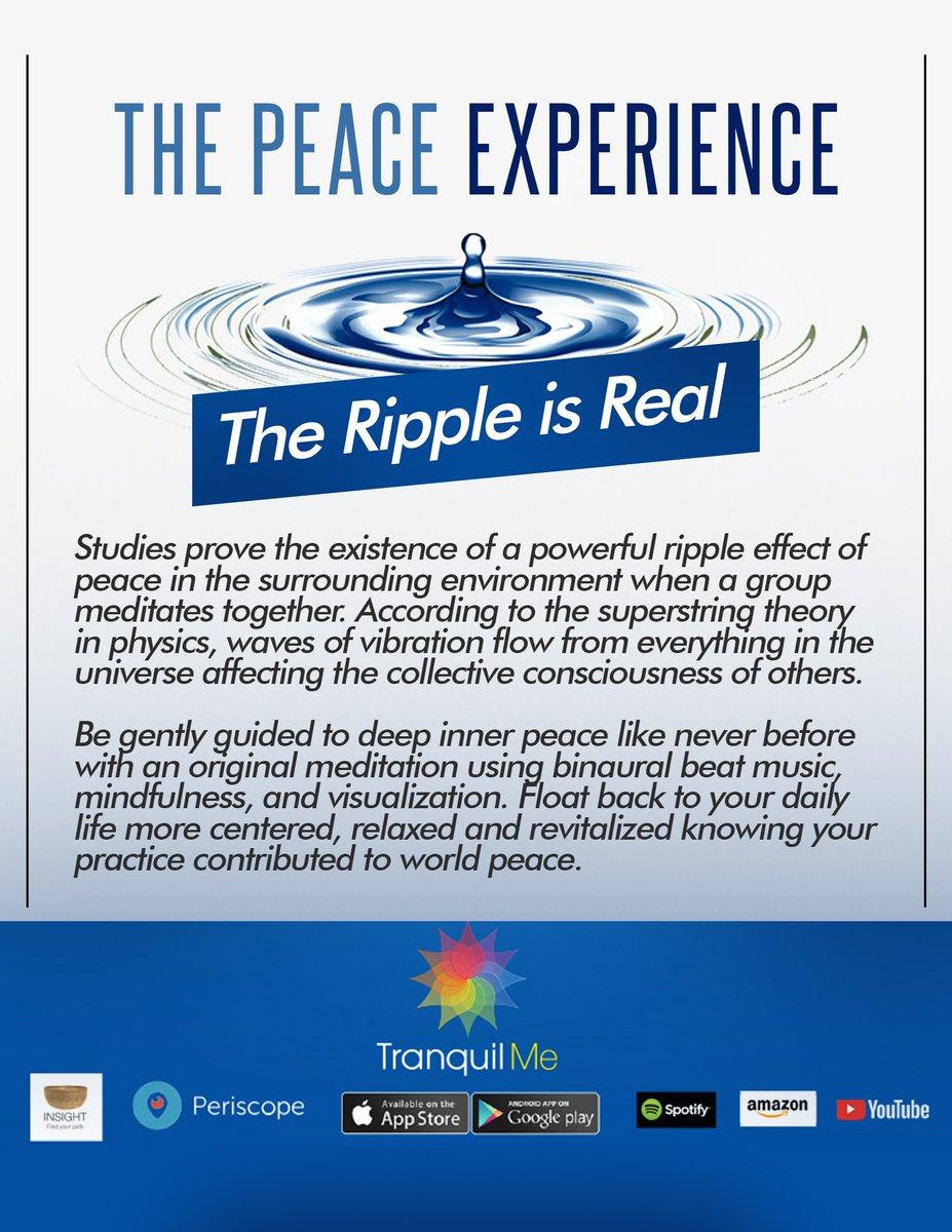 peaceexperience hashtag on Twitter