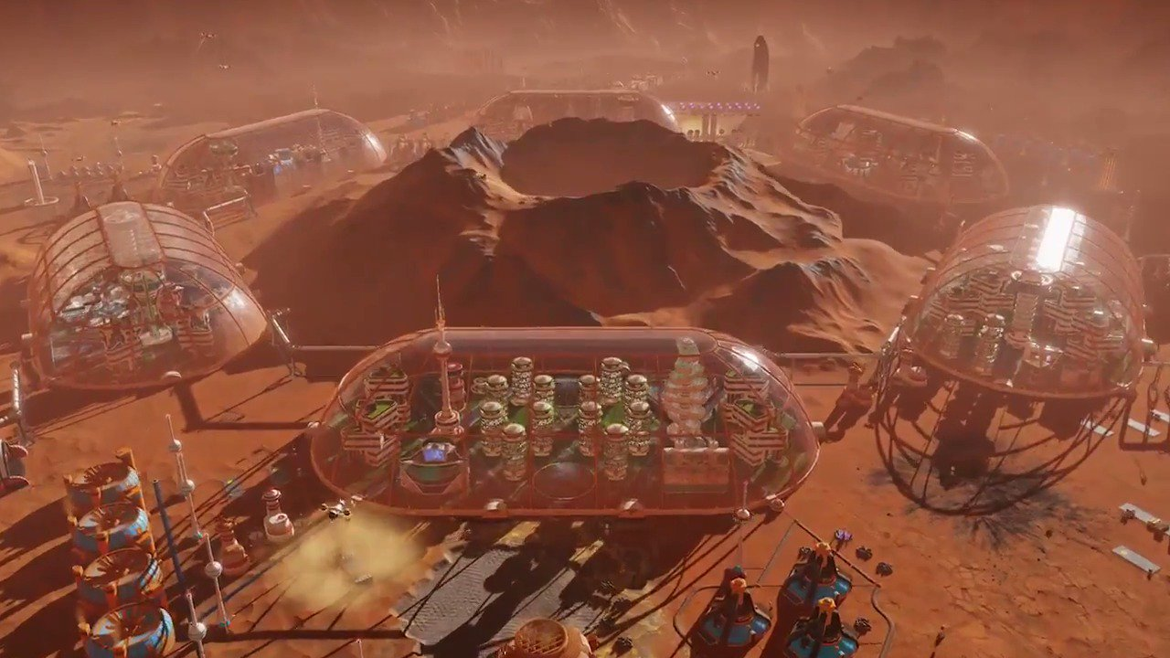 Build a new home for humanity. Surviving Mars is out today on PS4. https://t.co/txePfiRrBH