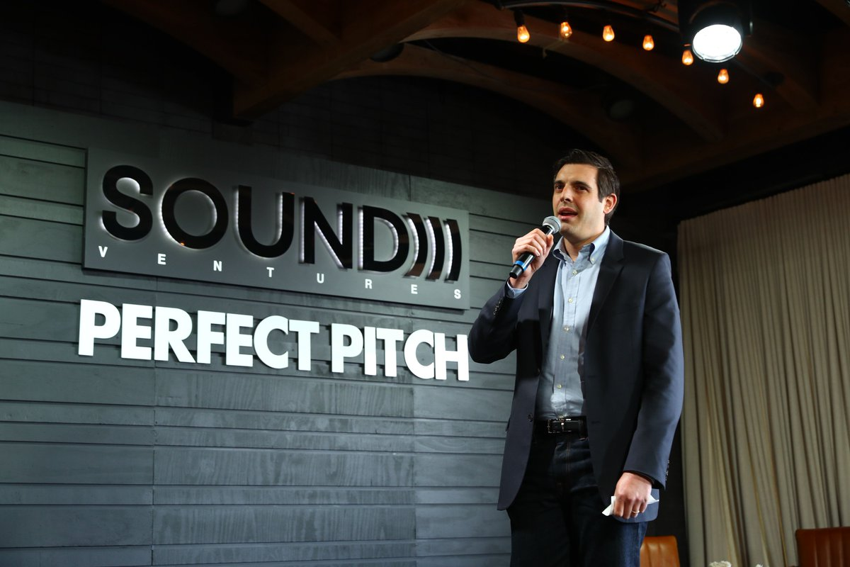 Please give a round of applause for, @StevenBertoni, our #PerfectPitch moderator.