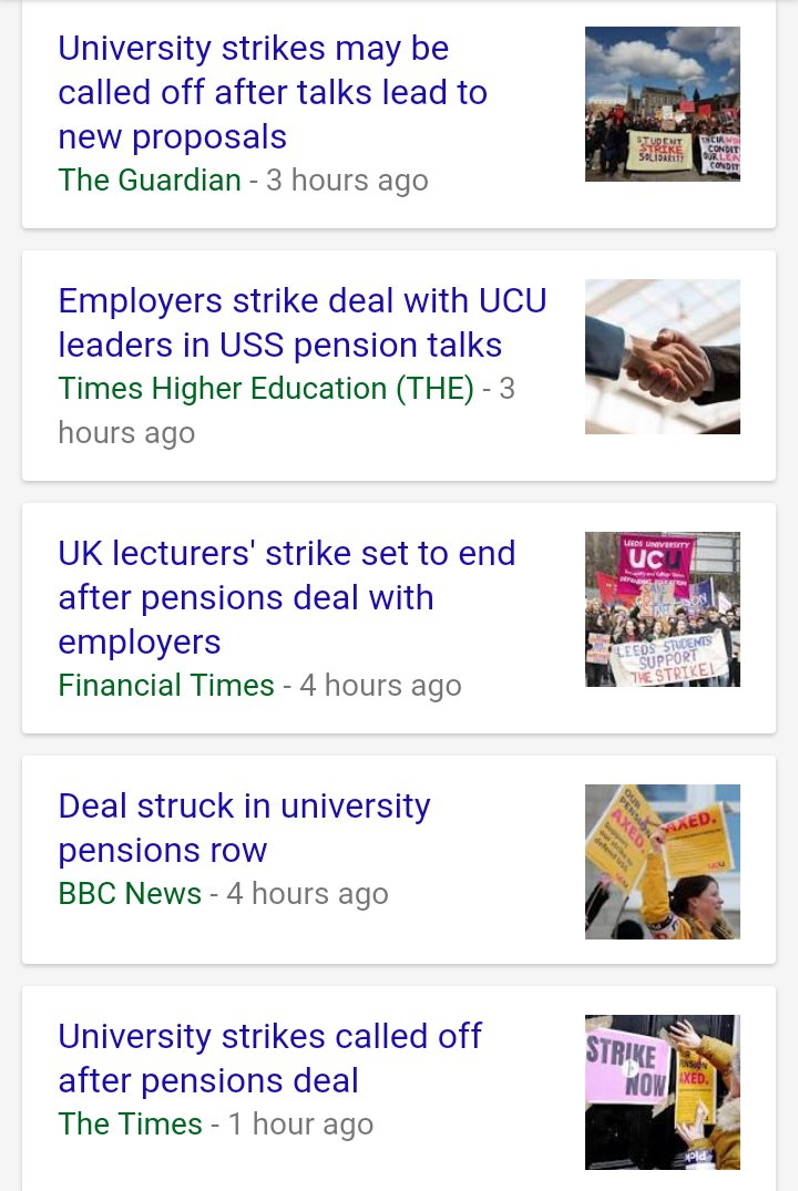 How odd. All the MSM seem to be reporting that the lecturers strike has been called off, yet its the top trending topic on Twitter. Who to believe? #NoCapitulation
