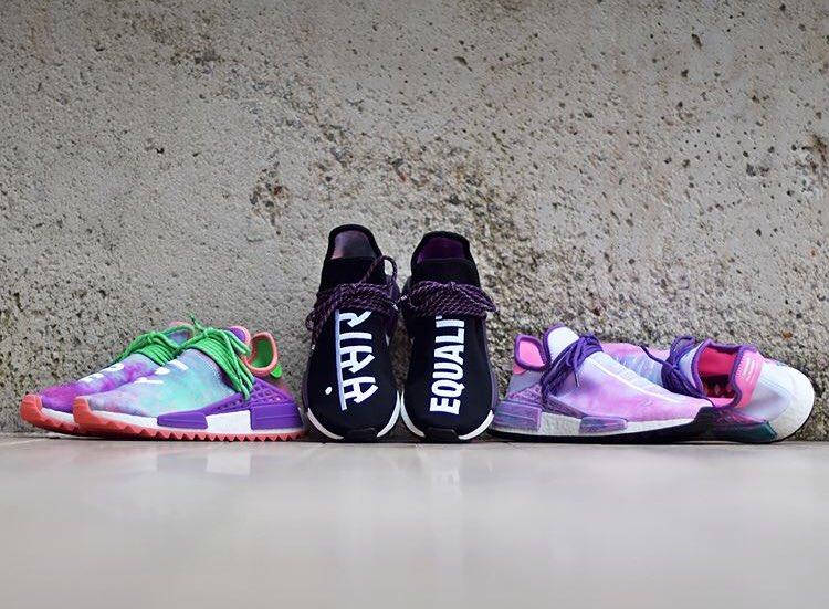low priced 347e6 ae177 Adidas, Pharrell, Collaberation | Baaz