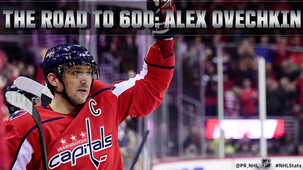 The Road to 600 Goals: Alex Ovechkin Behind the numbers of @ovi8s latest milestone: atnhl.com/2p5TYkL #NHLStats #600VI