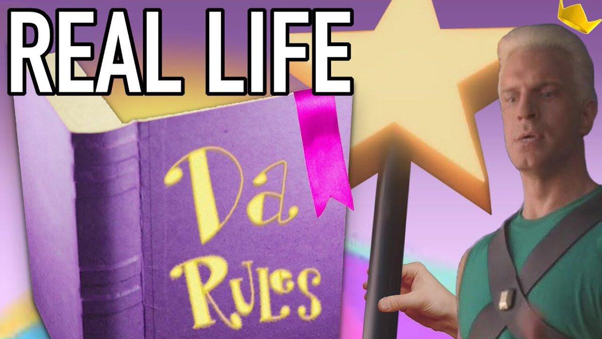 #FairlyOddParents Da Rulez IN REAL LIFE:...