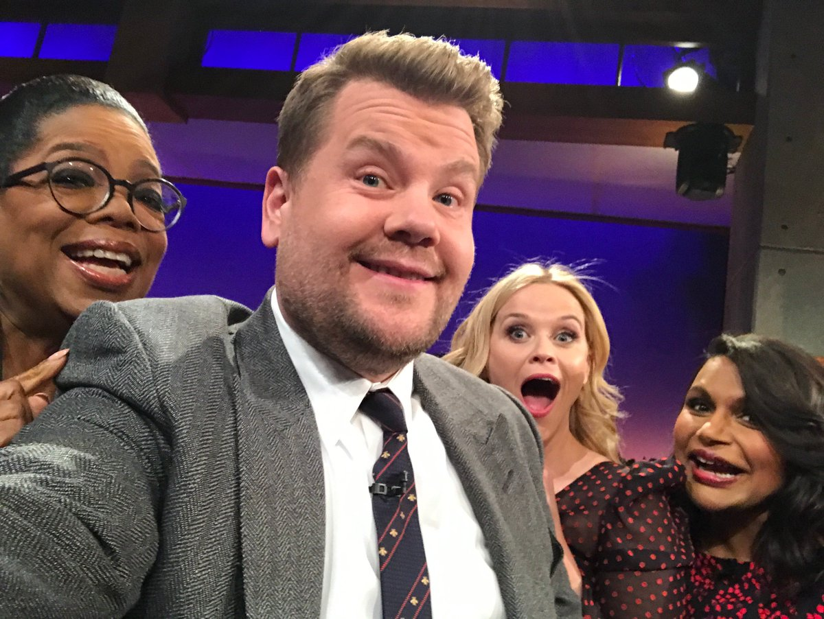 Look. Im not telling you what to do with your life...   But weve got @Oprah @RWitherspoon and @mindykaling all on the same couch tonight so honestly, if youre not watching CBS at 12:37/11:37c, Im not sure we can still be friends.