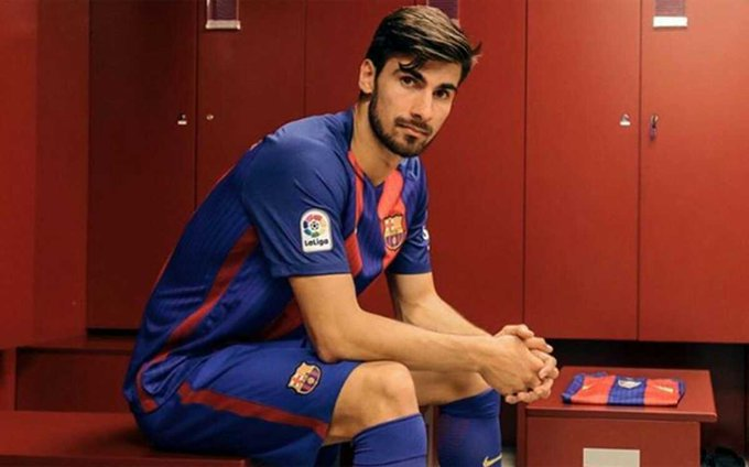 André Gomes twitter.
