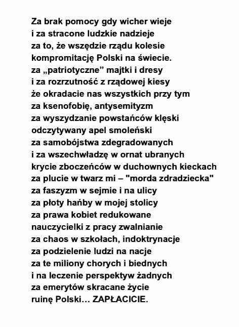 Adam Mazguła в Twitter Pani Małgorzata Stromecka Napisała