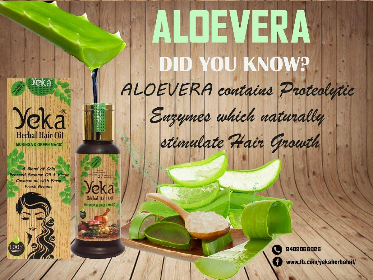 YEKA Herbal Hair Oil on Twitter: